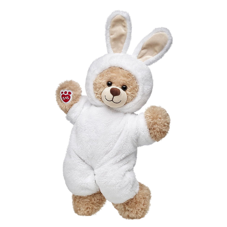 Build A Bear Workshop Happy Hugs Teddy Bear in White Bunny Costume Gift Set Build-a-Bear