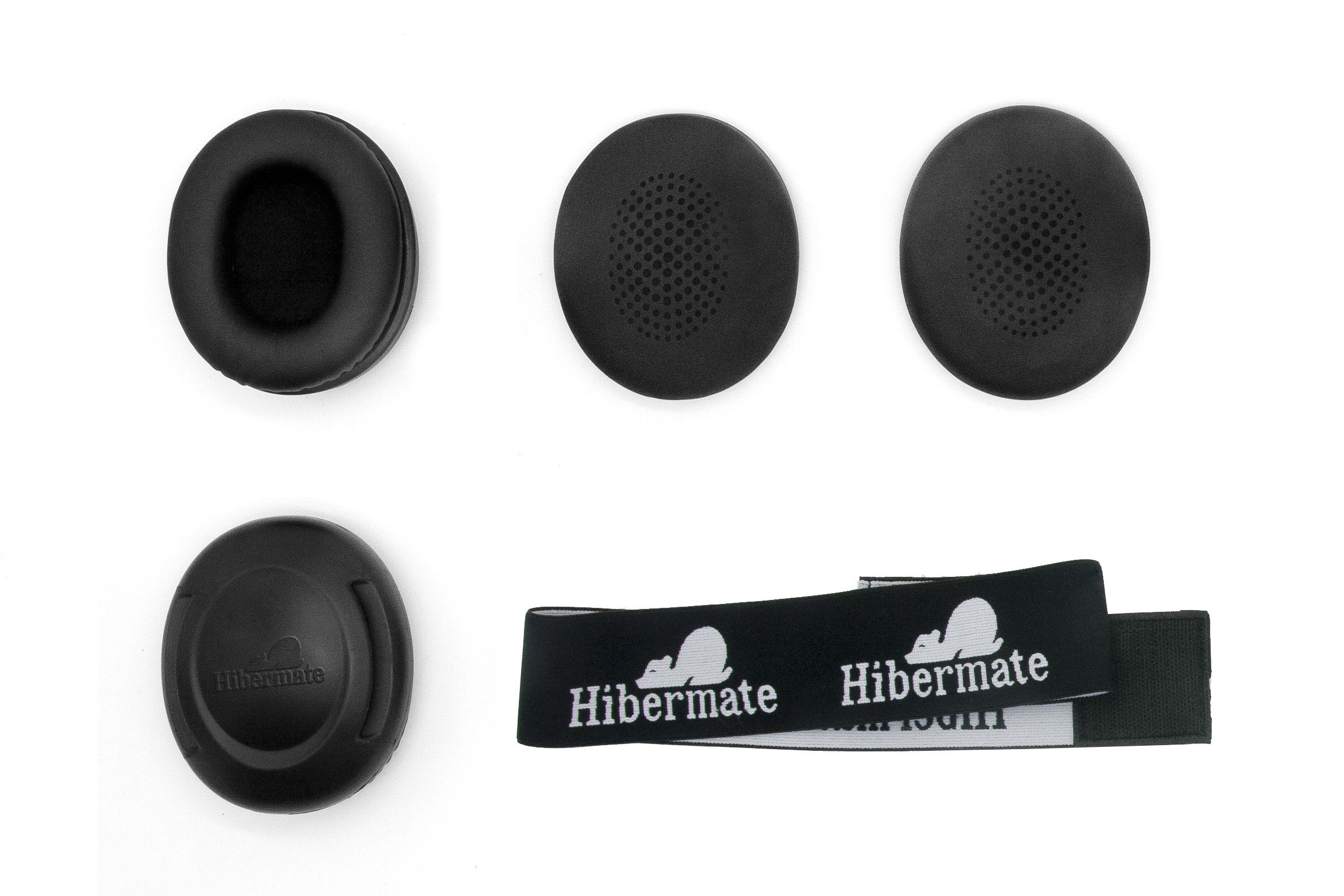 New! Hibermate Headband With Sound-Reducing Ear Muffs for Studying, Musicians with 2 Sets of Ear Cushions. Can help Autism, SPD, Drummers etc. by Hibermate (Image #6)