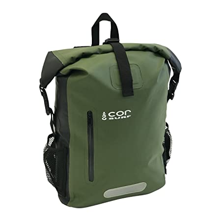 Waterproof Backpack - by Cor Surf | With Padded Laptop Sleeve | 25L and 40L | Dry Bag Backpack for Travel, Cycling, Camping, Hiking, Kayak, Rafting or Surf