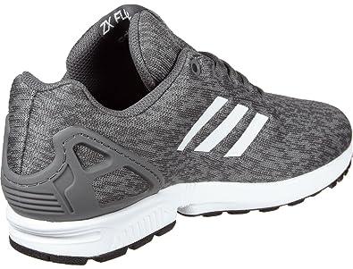 promo code 0921d 5c34a adidas ZX Flux J, Chaussures de Fitness Mixte Enfant, GrisBlanc (Gricin