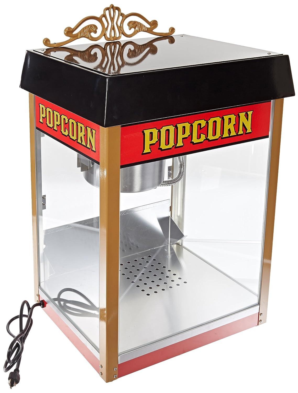 Benchmark 11080 Street Vendor Popcorn Machine, 120V, 1430W, 12A, 8 oz Popper