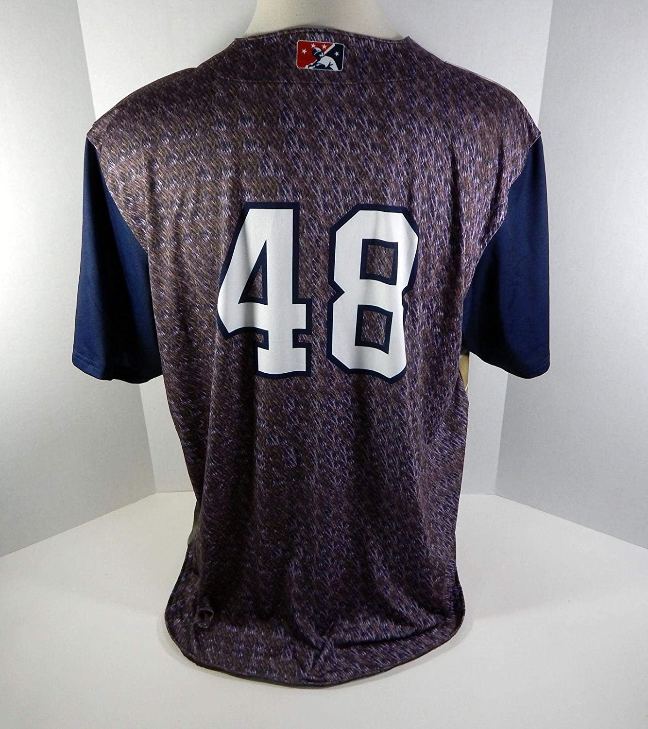 Game Issued Navy Nutria Jersey