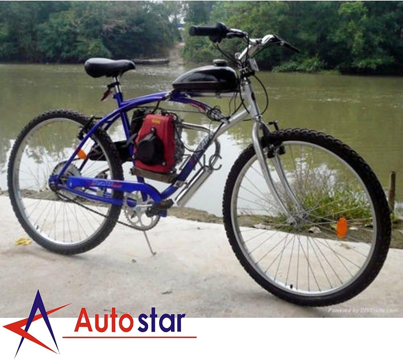 Kit de Motor de Bicicleta motorizado de Gasolina de 4 Tiempos 49CC: Amazon.es: Deportes y aire libre