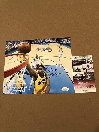 eabf08509 Donovan Mitchell Autographed Signed Memorabilia 8x10 Photo Utah Jazz Nba  Star W JSA Coa at Amazon s Sports Collectibles Store