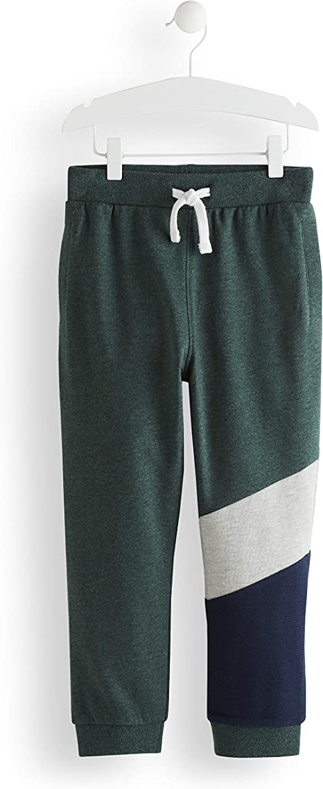 RED WAGON Boys Panel Jogger Trouser, Green, 152 (Manufacturer ...