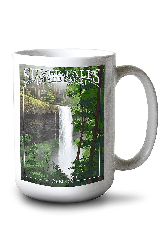 新品入荷 シルバーFalls状態公園、オレゴン州 – 南Falls Mug Canvas Tote Mug Bag LANT-46577-TT B077RS8641 B077RS8641 15oz Mug 15oz Mug, 久住町:cff37049 --- catconnects-ie.access.secure-ssl-servers.org