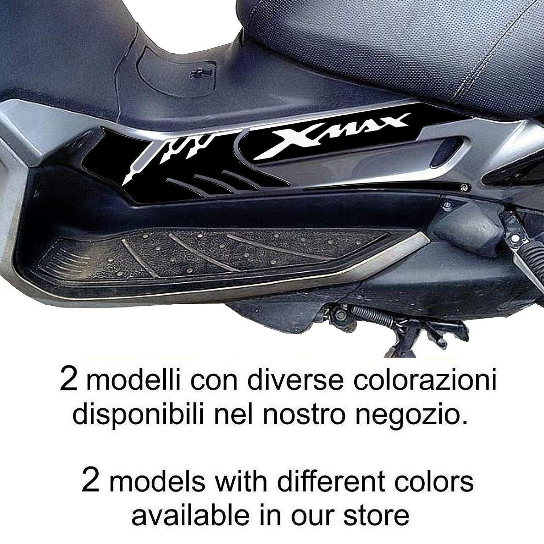 Adesivi 3d Protezione Pedana Mod/_1 Per Yamaha Xmax 2005-09