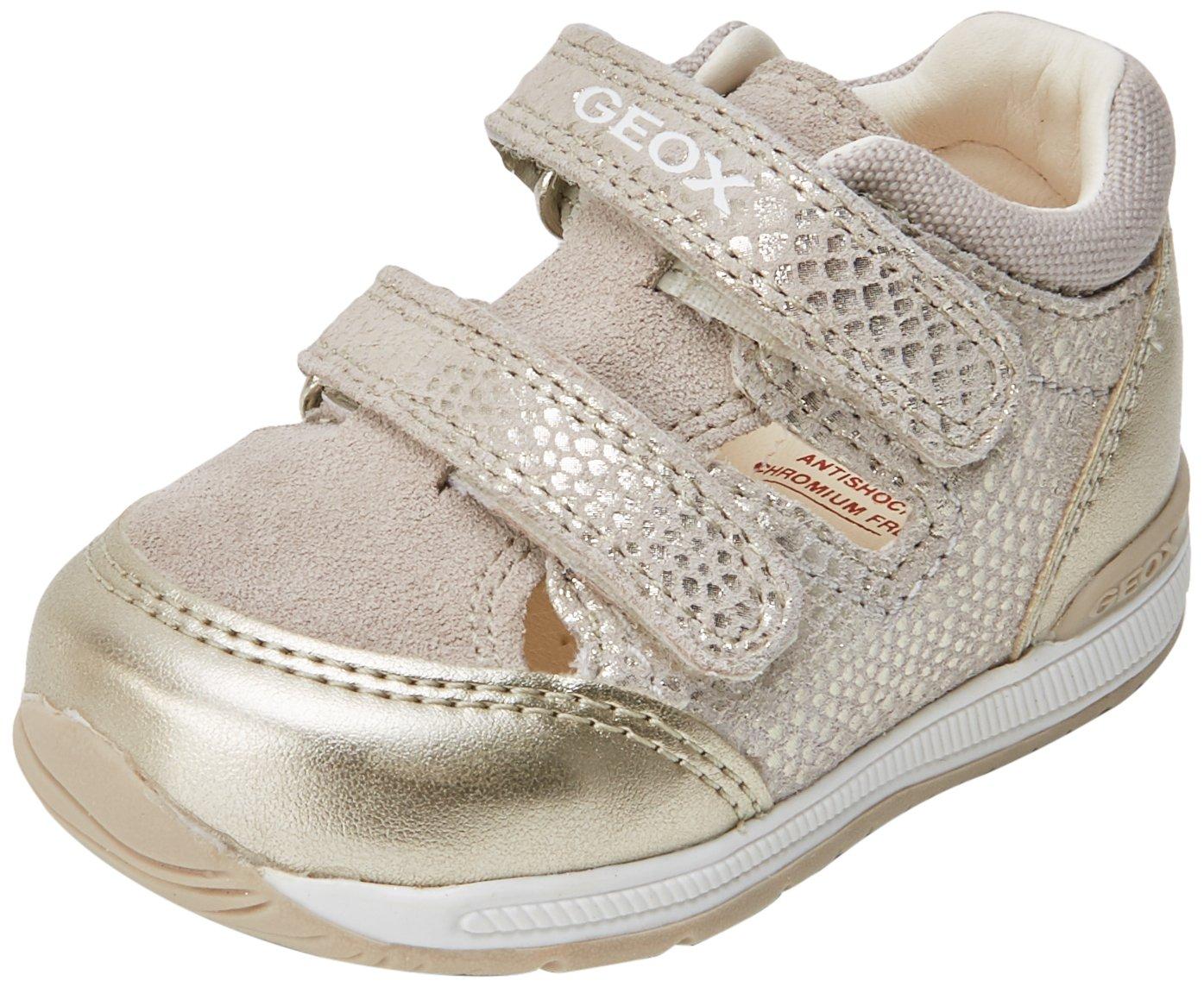 Geox B Rishon B, Sneakers Basses bébé Fille B820LB007NF