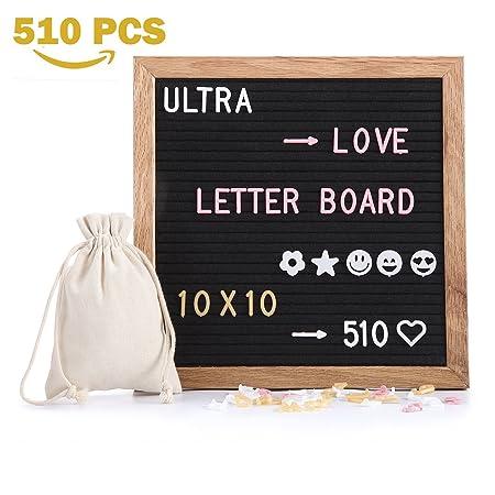 Brief Board Board Filz Mit 510 Stück Austauschbare Buchstaben