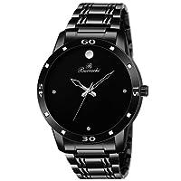 Buccachi Analogue Black Round Dial Watch for Men's (B-G5043-BK-BC)