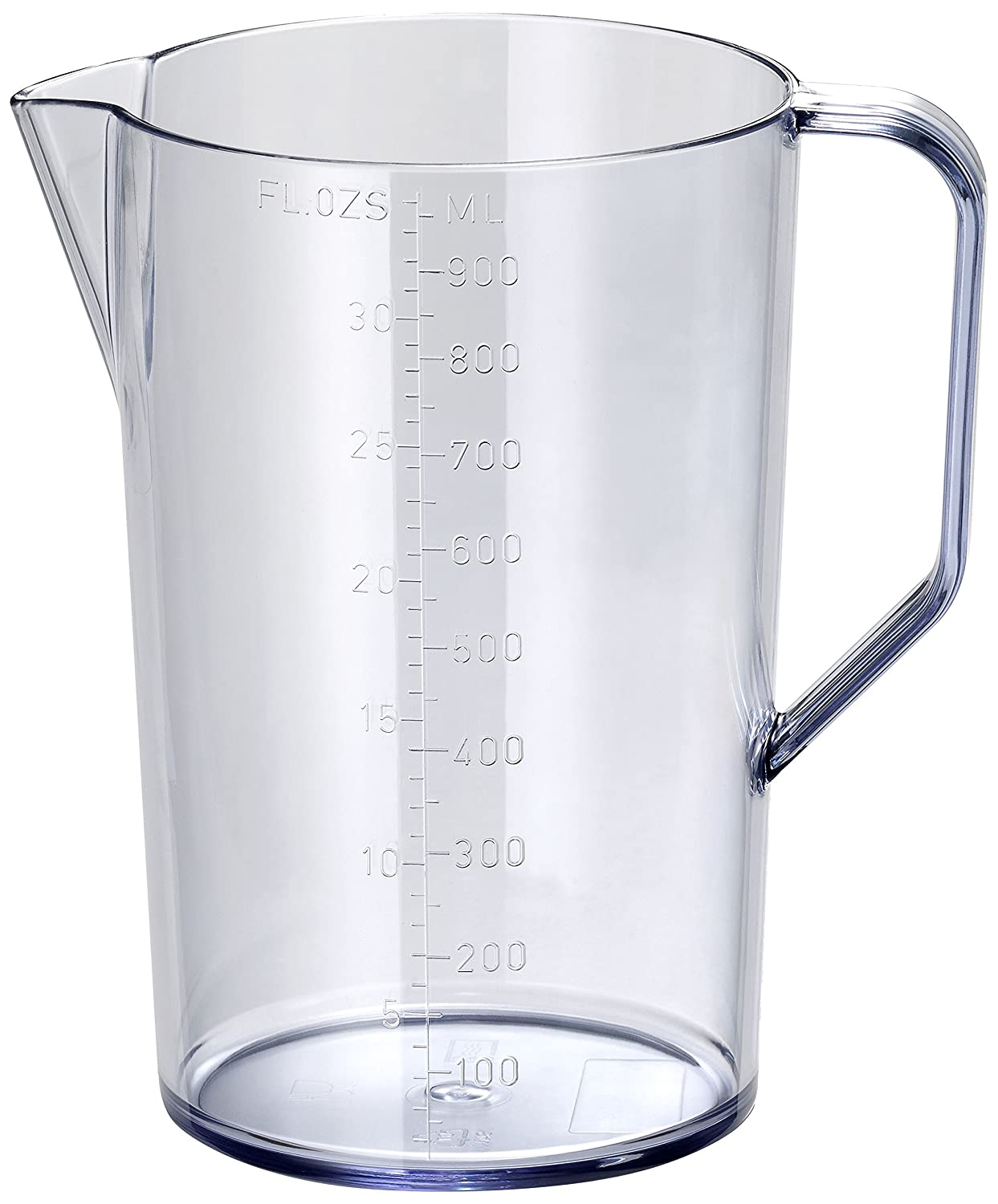 Bamix MX 790024 Graduated Jug with Handle, Plastic, Clear, 14.5 x 10.5 x 16 cm
