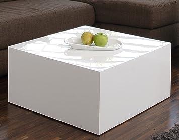 Cool Couchtisch Wei Hochglanz Quadratisch Aus Mdf Xcm Quadratisch Kuba  Moderner Wohnzimmer With Couch Mit Tisch