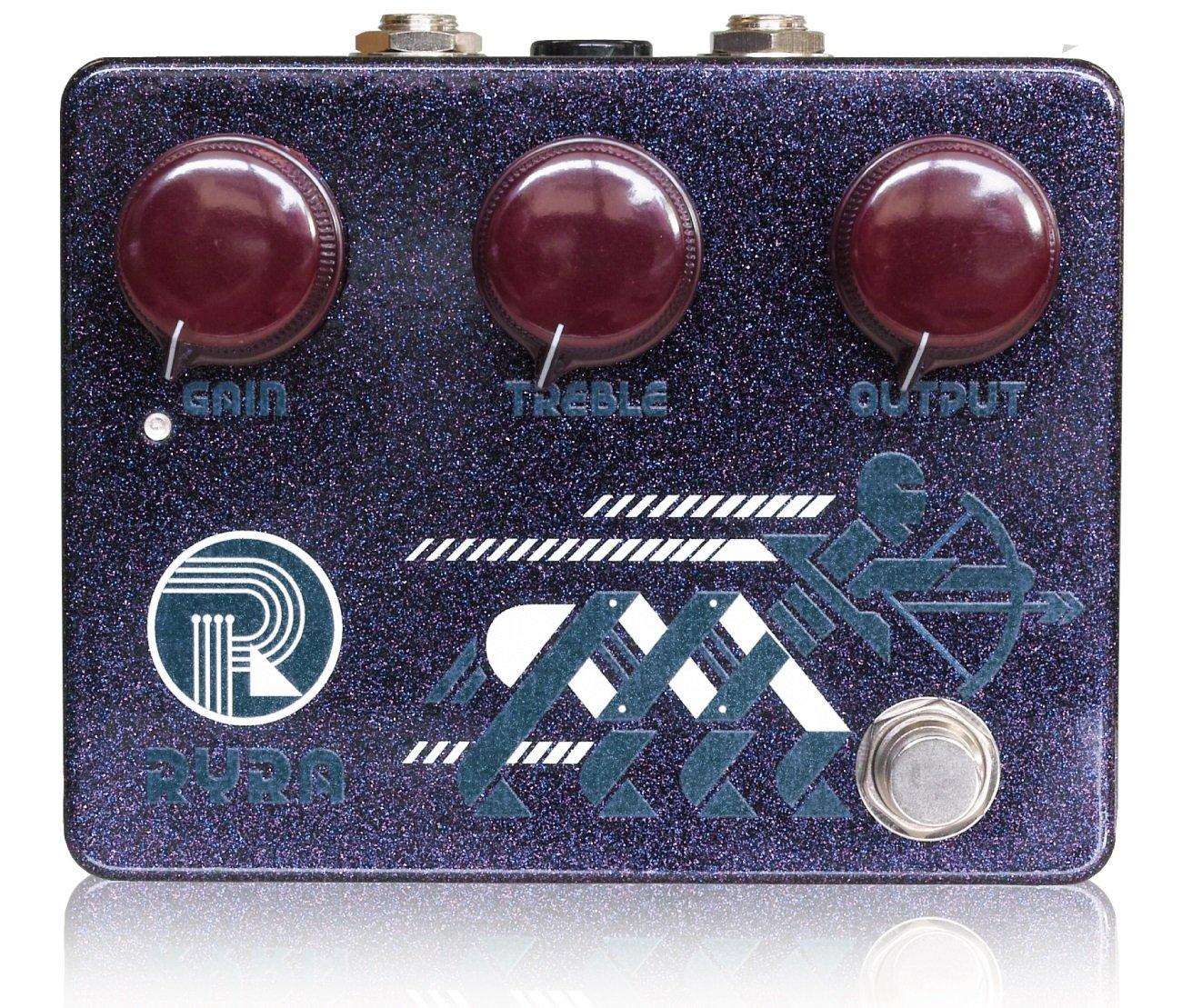RYRA (アールワイアールエー) The Klone Klone Black B01M9FXD81 Cherry/ギターエフェクター The オーバードライブ B01M9FXD81, オオアミシラサトマチ:f9e93e62 --- ijpba.info