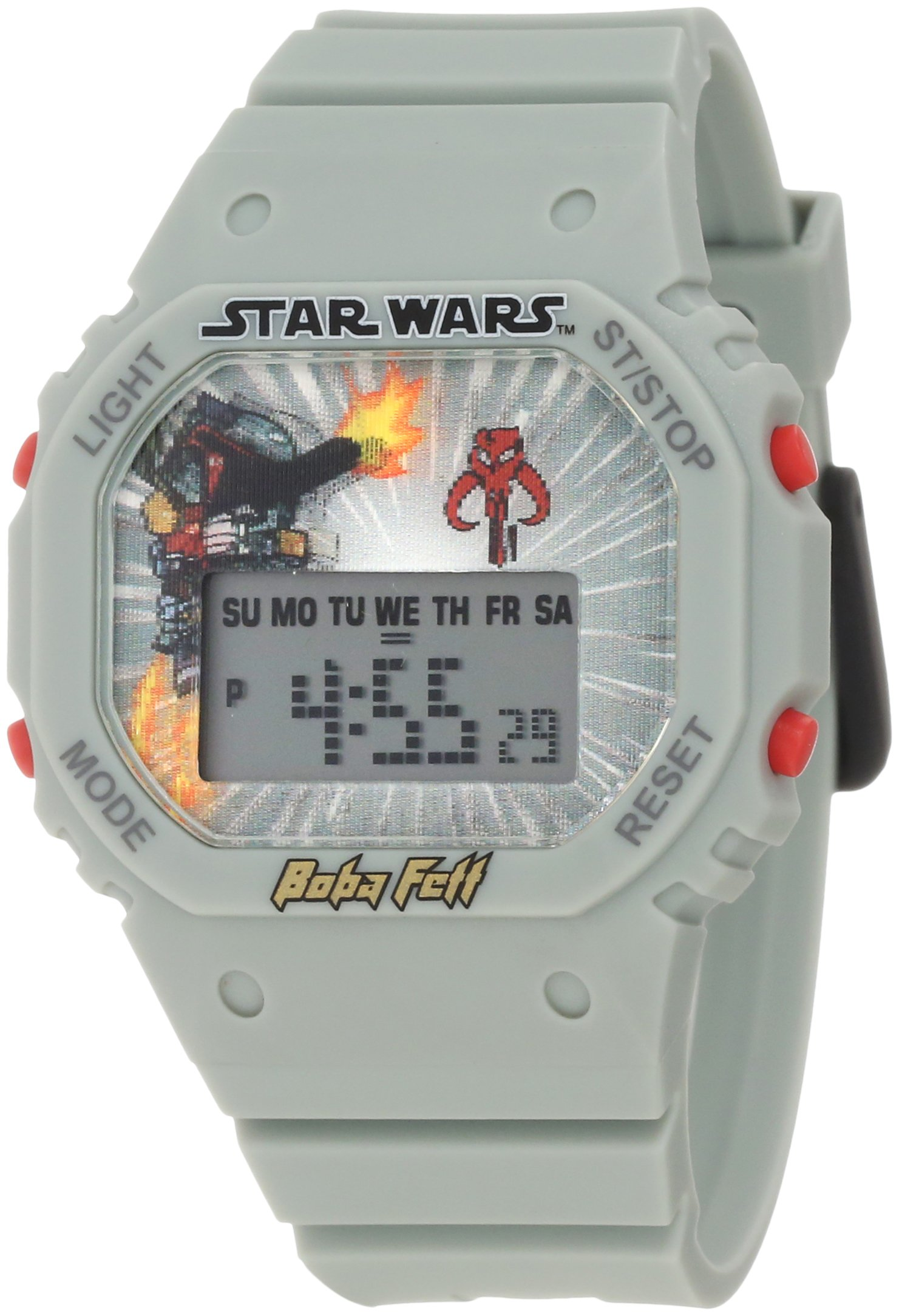 Star Wars Kids' 9005794 Star Wars Boba Fett Digital Watch