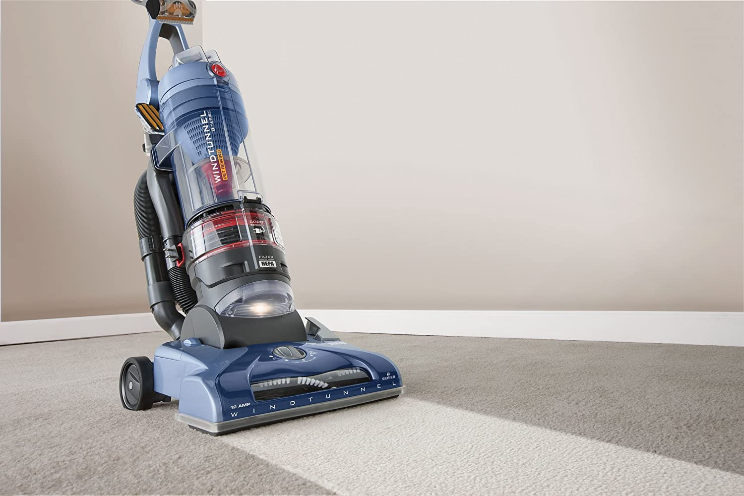 Hoover T-Series WindTunnel Pet Rewind Vacuum, UH70210