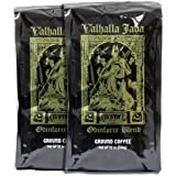 Valhalla Java Ground Coffee Bundle Deal, USDA Certified Organic & Fair Trade (2-Pack)