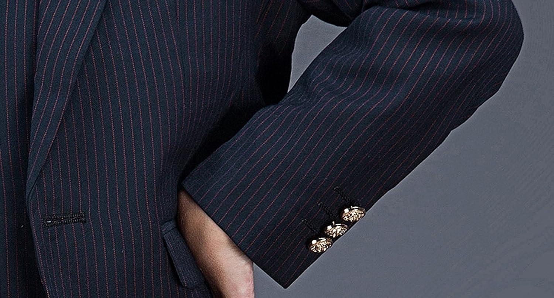 Liveinu Boys' Pinstripe Pattern Two Button Formal Dress Suit Set LVNU-xz079