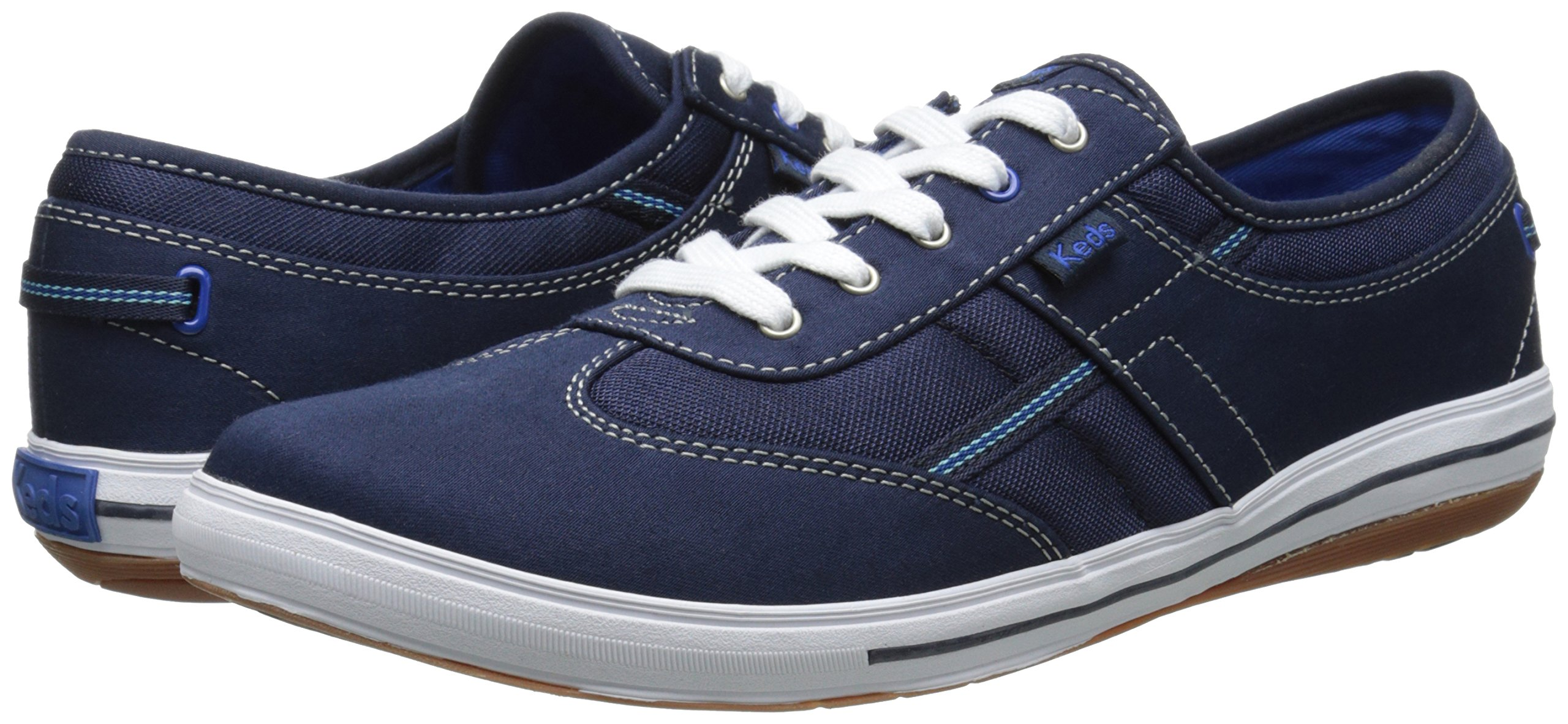 Keds Women's Craze T-Toe Twill Sneaker, Peacoat Navy, 10 M US by Keds (Image #6)
