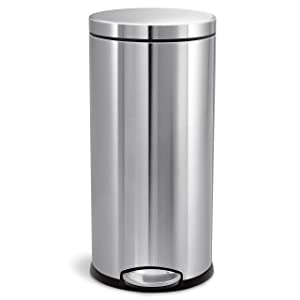 simplehuman 8 Gallon Round Step Trash Can