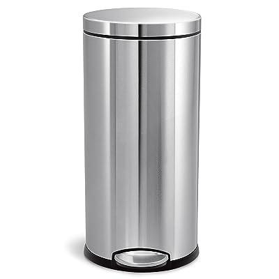 Simplehuman 30 Liter Round Step Trash Can