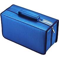 alavisxf xx Estuche para CD, Estuche de Almacenamiento de CD de Gran Capacidad de Nailon de 160 capacidades, Soporte…