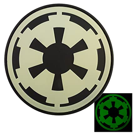 Amazon Glow Dark Star Wars Galactic Empire Insignia Imperial