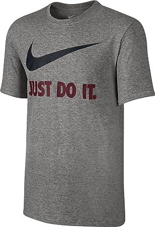 nike t-shirt herren grau