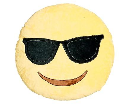 Gafas de sol Cool cojín redondo con forma de emoticono ...