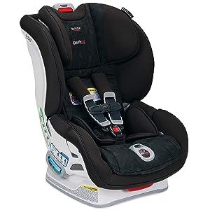 Britax Boulevard ClickTight Convertible Car Seat - 2 Layer Impact Protection - Rear and Forward Facing - 5 to 65 Pounds, Circa