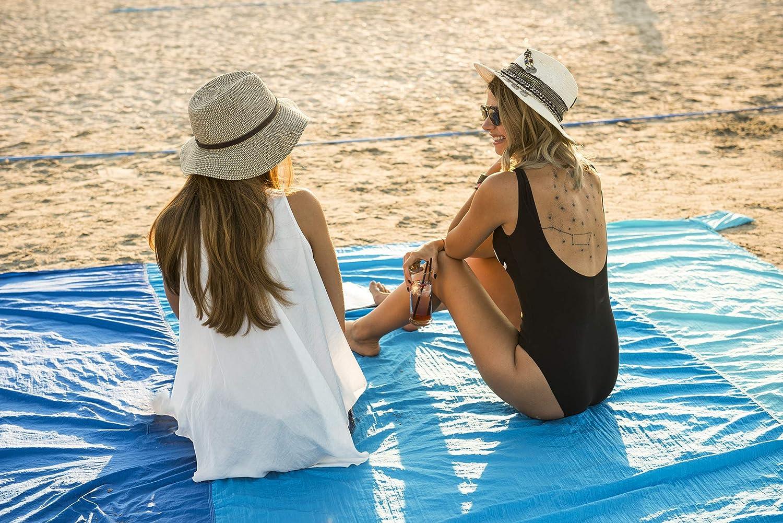 WELLAX Sand Free Beach Blanket