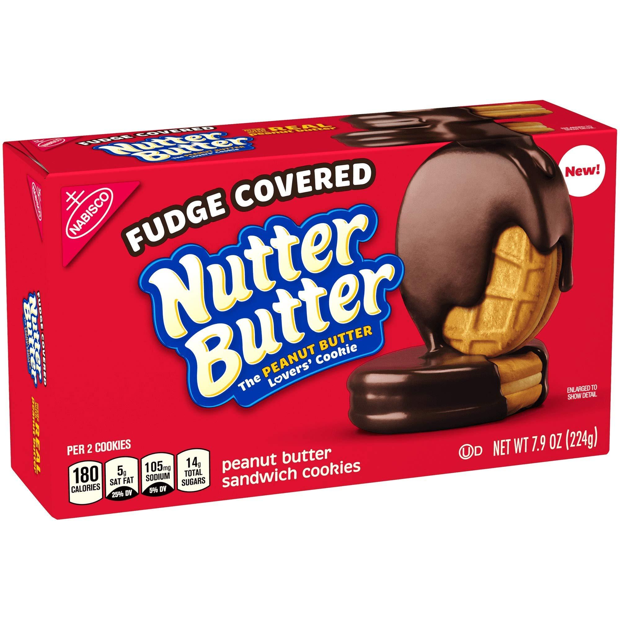 Nutter Butter Fudge Dipped Peanut Butter Cookies - 7.9oz (2 pack) by Nutter Butter Fudge Dipped Peanut Butter Cookies - 7.9oz ( 2 pack )