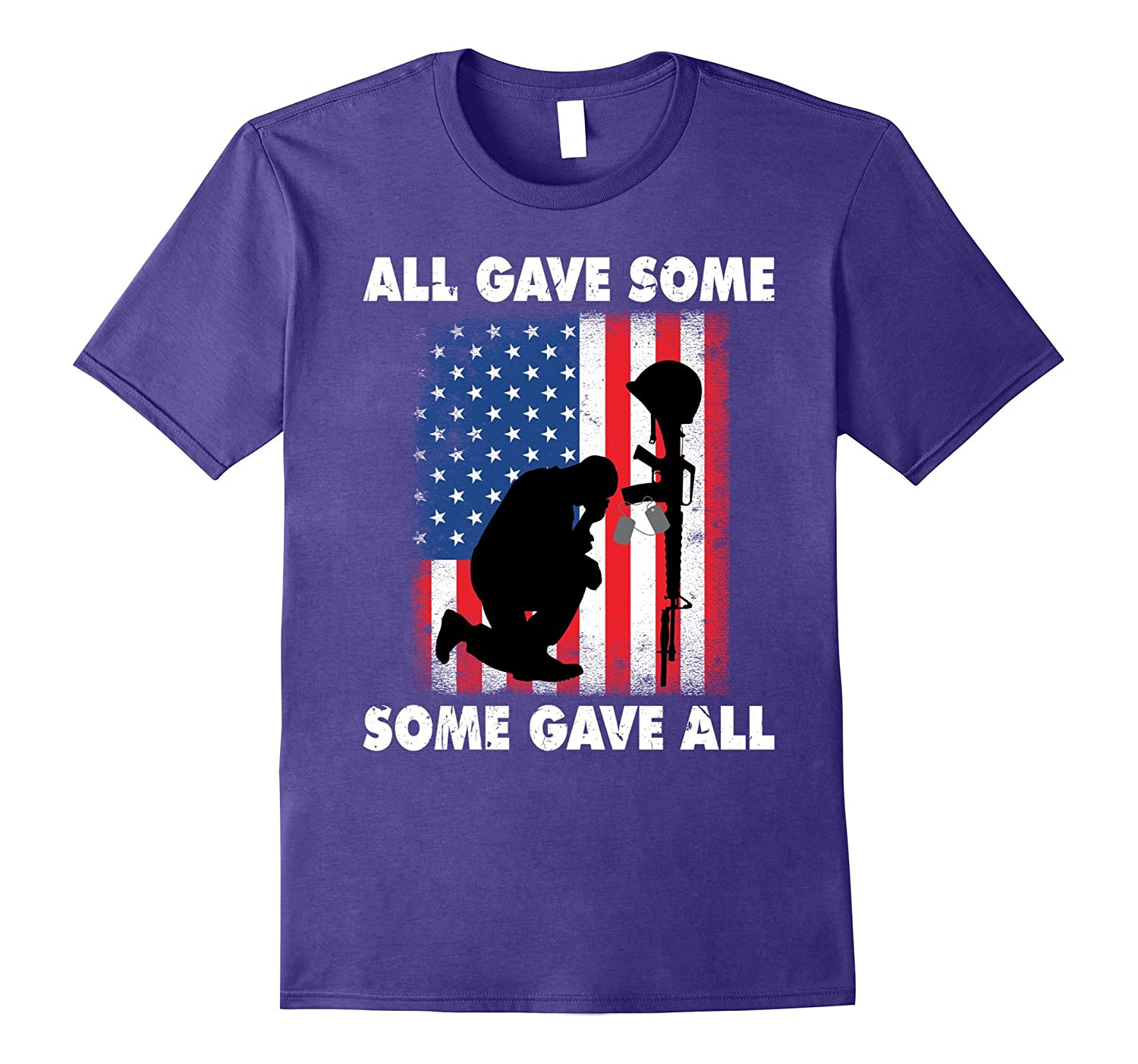 All gave some Some gave all T-Shirt Veteran  Memorials Day-TJ