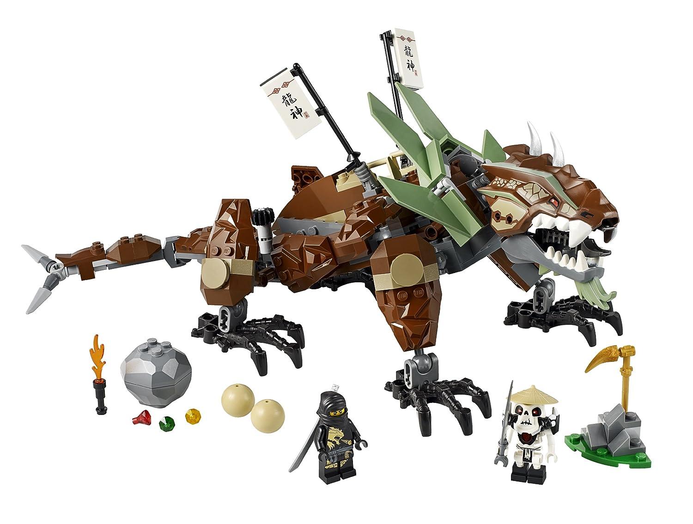 lego ninjago 2509 jeu de construction la dfense du dragon de terre amazonfr jeux et jouets