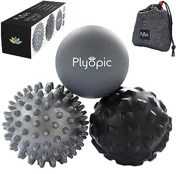Plyopic Bolas de Masaje - (Set de 3 Massage Balls) - para ...