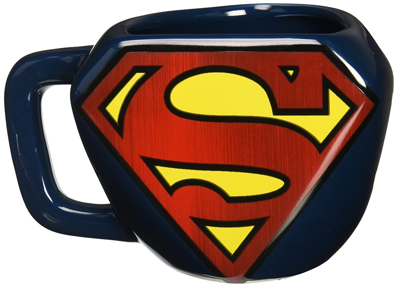 Superman Tazza Sagomata con Logo Paladone PP2971SM Accessory Consumer Accessories