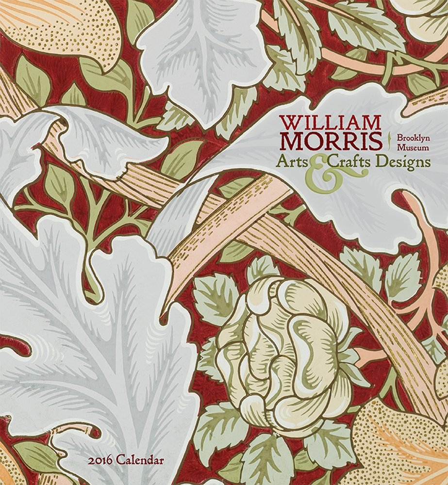 Amazoncom William Morris Arts Crafts Designs 2016 Calendar