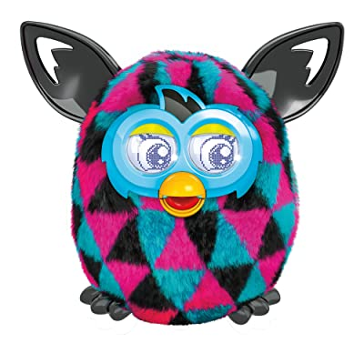Furby Boom Figure (Triangles): Toys & Games