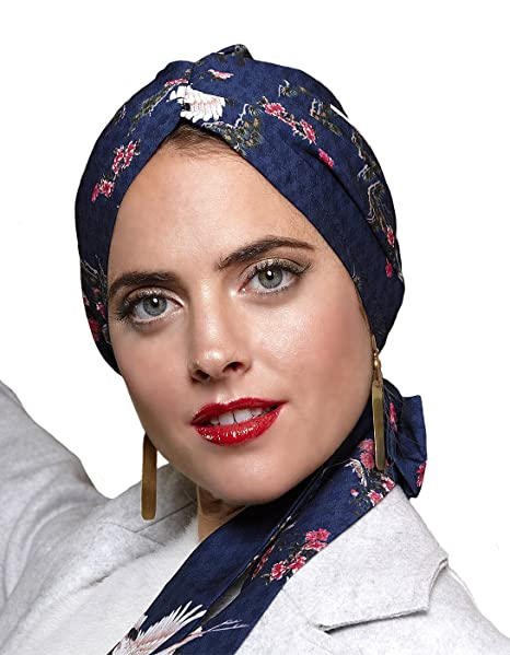 Belle Turban Reine P, Pañuelo para la Cabeza para Mujer, Multicolor (Dance)