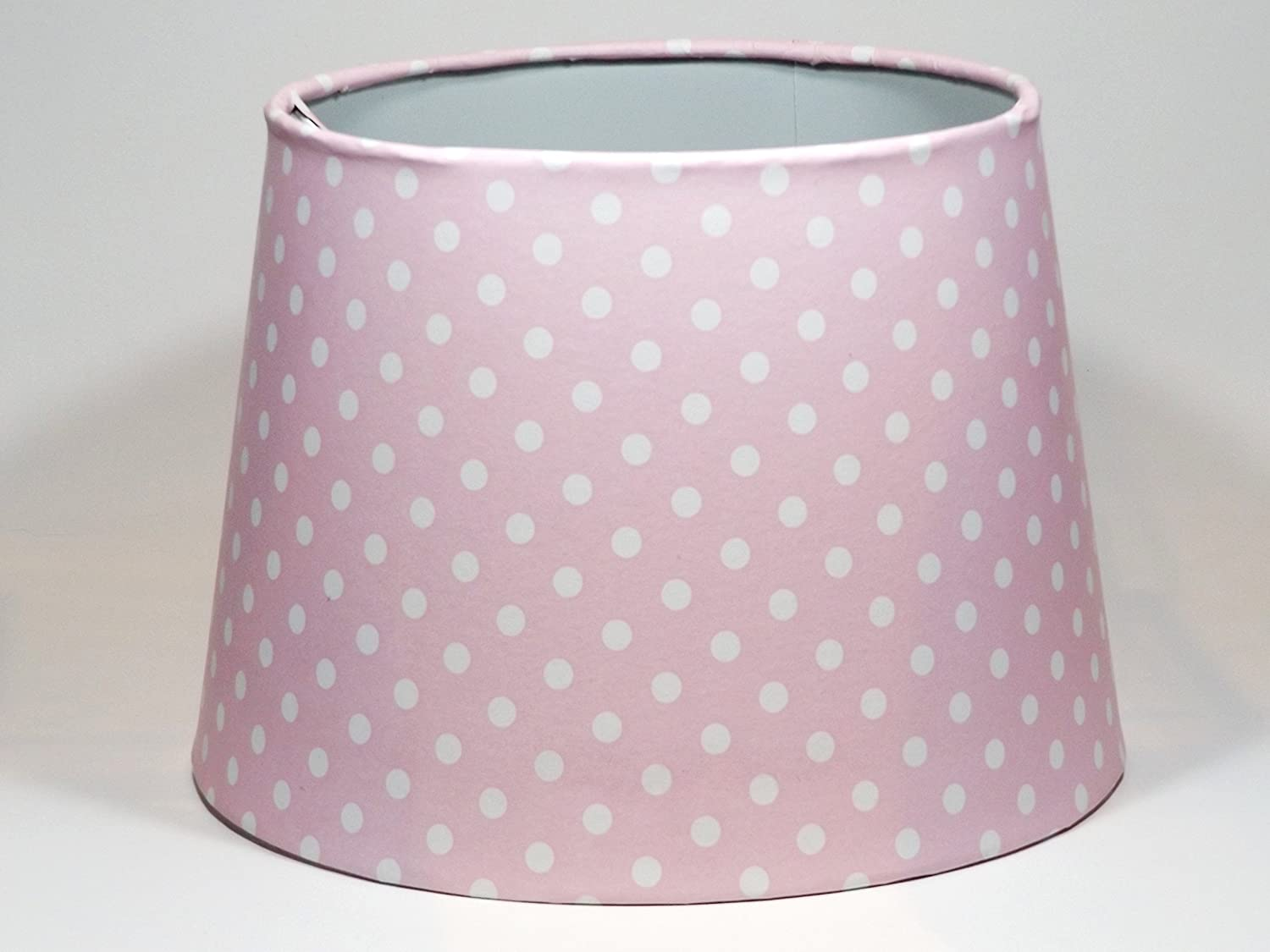 Pink polka dot lampshade or ceiling light shade lamps girls bedroom pink polka dot lampshade or ceiling light shade lamps girls bedroom nursery accessories gifts 95 dual purpose amazon lighting aloadofball