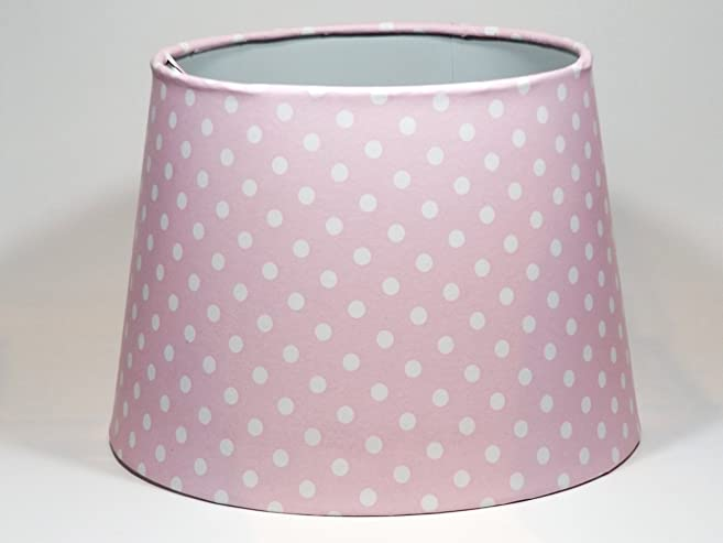 Pink polka dot lampshade or ceiling light shade lamps girls pink polka dot lampshade or ceiling light shade lamps girls bedroom nursery accessories gifts 95quot aloadofball Gallery