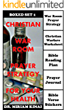 Boxed Set Christian War Room Prayer Strategy for your Health