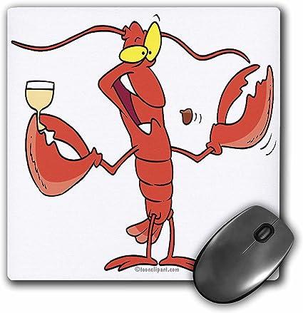 Funny Griller Homard Dessin Anime Mouse Pad 8 By 20 3 Cm Mp 104145 1 Amazon Fr Fournitures De Bureau