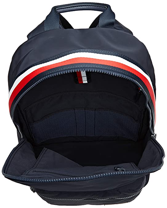 Tommy Hilfiger - Sport Mix Backpack, Mochilas Hombre, Azul (Tommy Navy), 15x43x31 cm (B x H T): Amazon.es: Zapatos y complementos