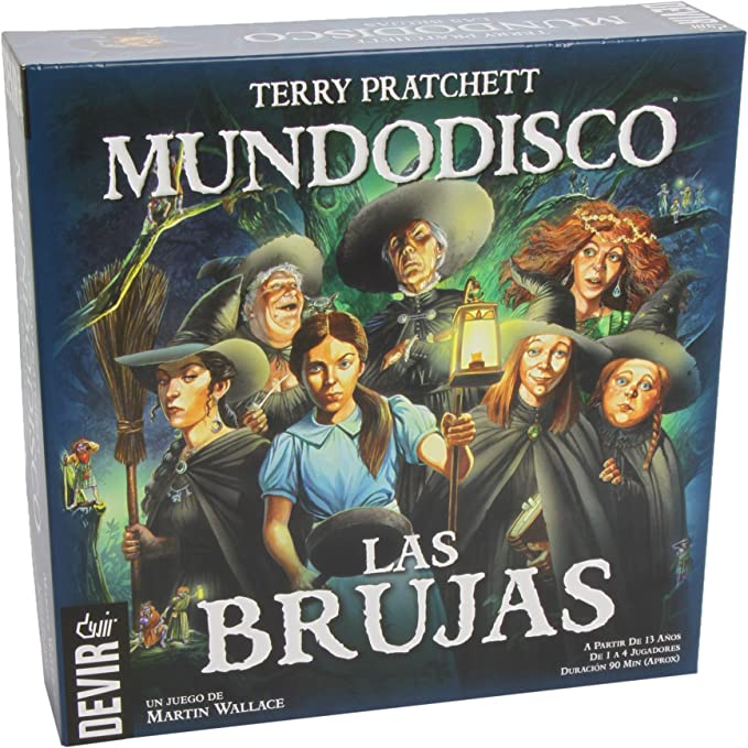 Devir - Mundodisco Las Brujas, Juego de Mesa (BGBRUJAS): Amazon.es: Juguetes y juegos