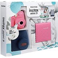 Instax Mini 9 Kit Pembe Jean Çantalı