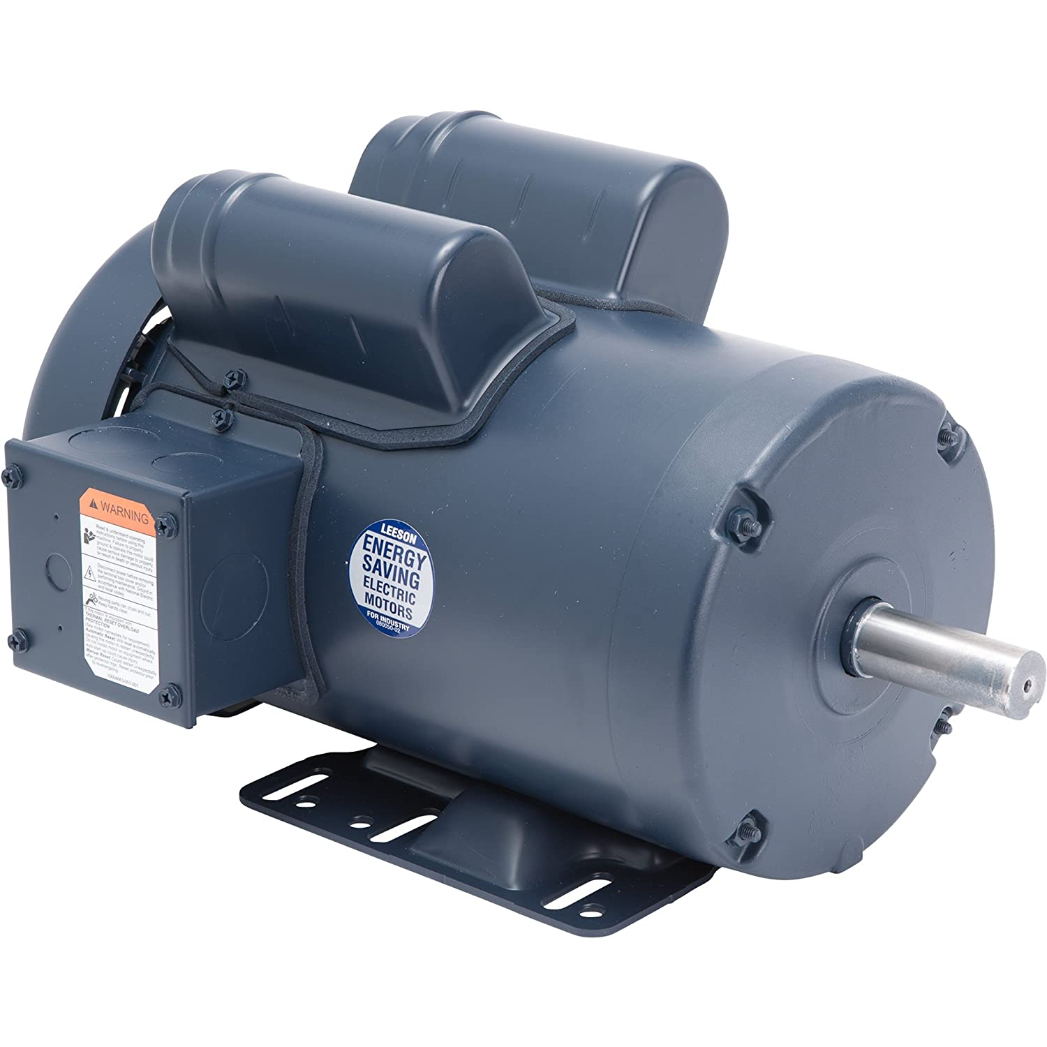 Leeson Woodworking Electric Motor - 3 HP, 3,450 RPM, 230 Volts, Single Phase, Model Number 120341
