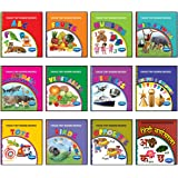 Vikas Tiny Board Books (Combo of 12 Books)