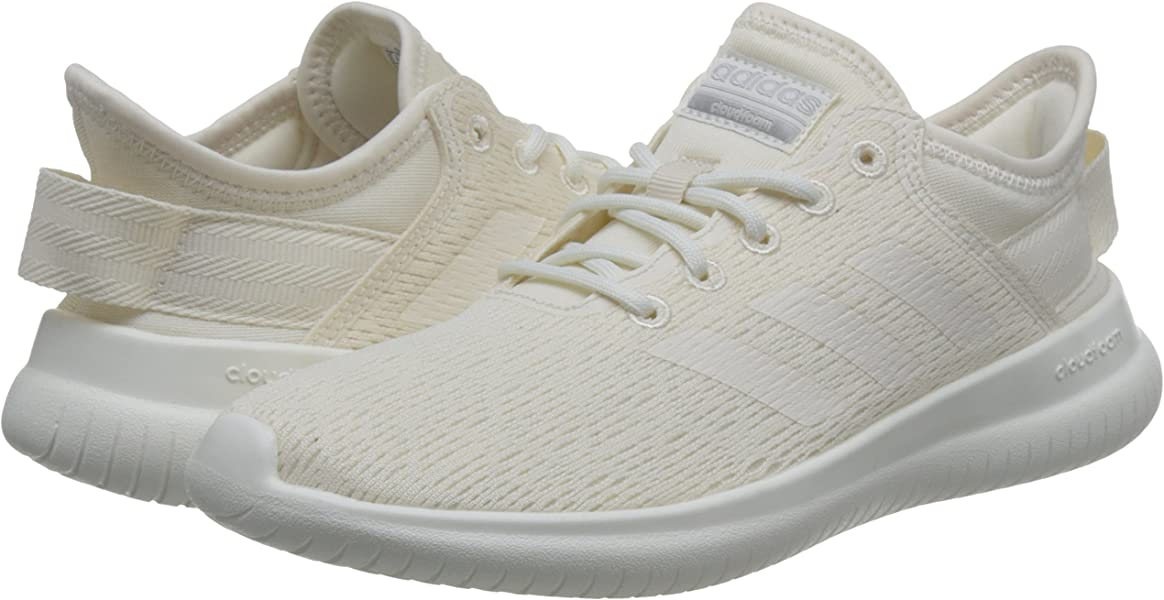 buy popular d8e2c ba656 adidas Damen Cloudfoam QT Flex Gymnastikschuhe Elfenbein Chalk WhtMatte  Silver, 37 1