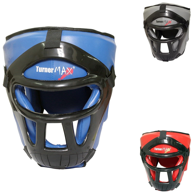 TurnerMAX取り外し可能なヘッドガードボクシングキック格闘技面ガード、ブルー B004FZ5WOA B004FZ5WOA, タクマ食品:99ceab1c --- capela.dominiotemporario.com