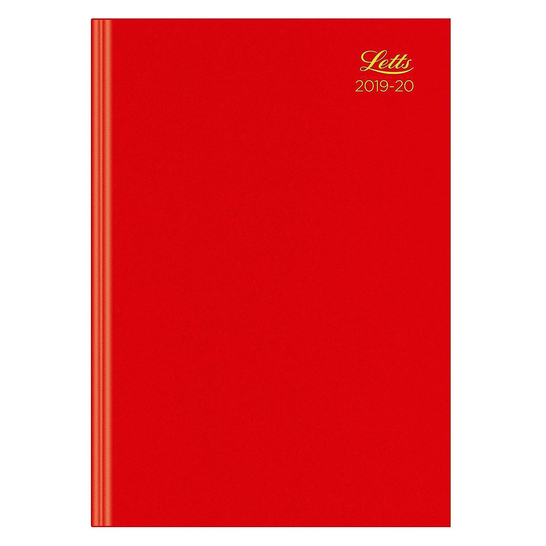 Letts - Agenda escolar (tamaño A4, 19 a 20 días por página ...